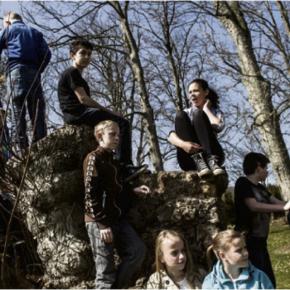 Lokalavisen Nyborg besøger Glorup i workshopuge